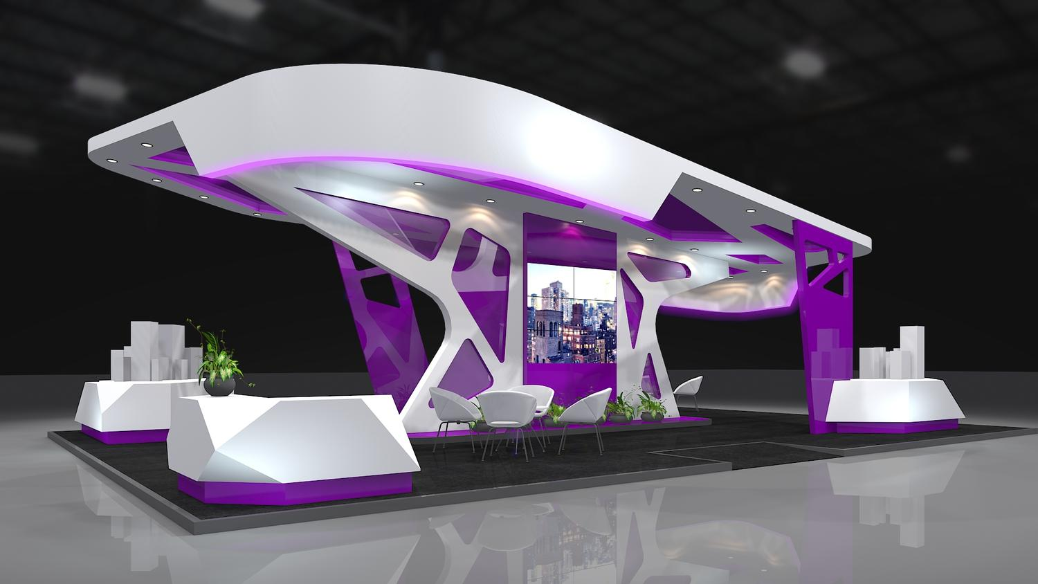 Exhibition Booth 3D Design By AbelLangbid On Envato Studio