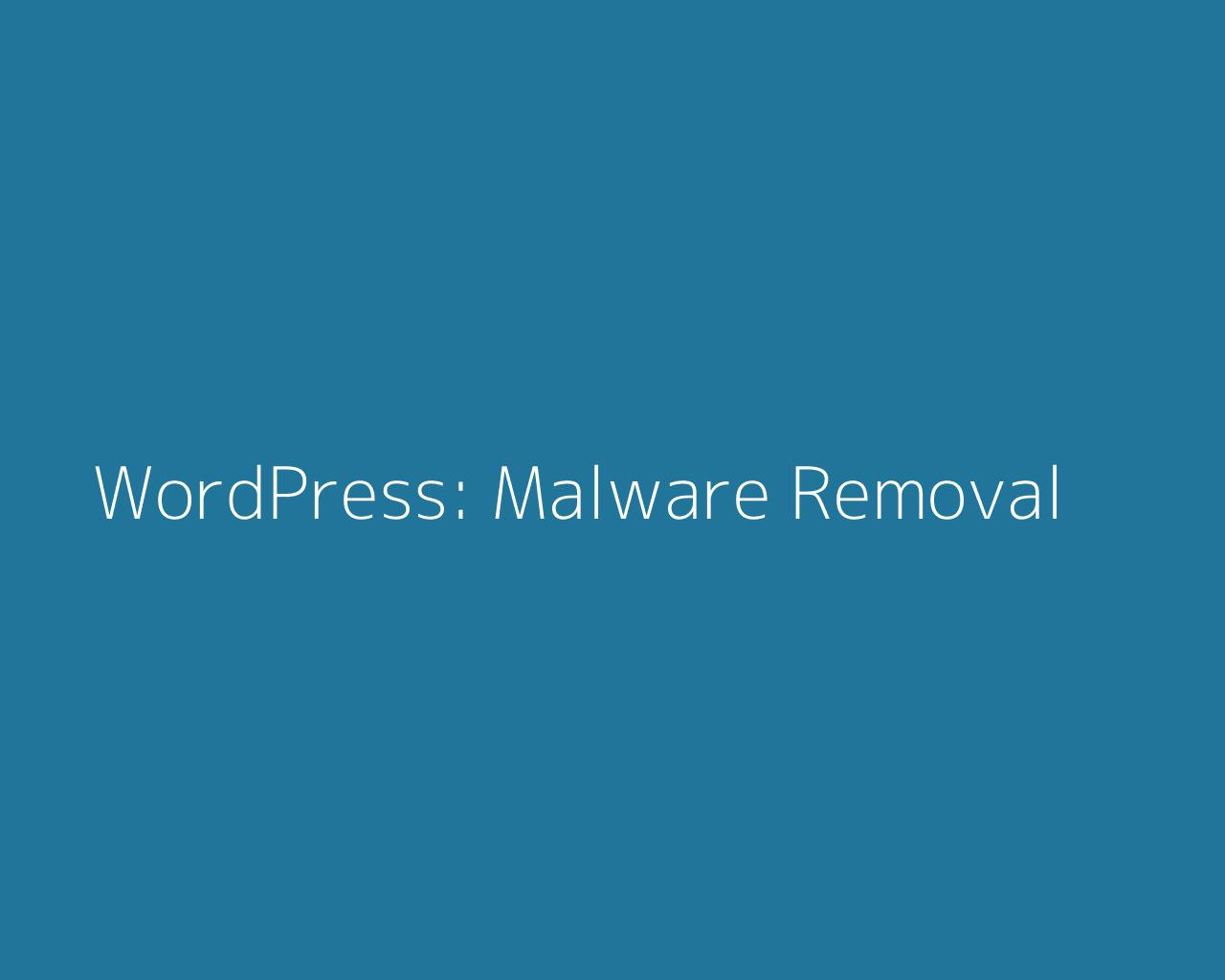 WordPress Malware Removal by andyc225 - 102416