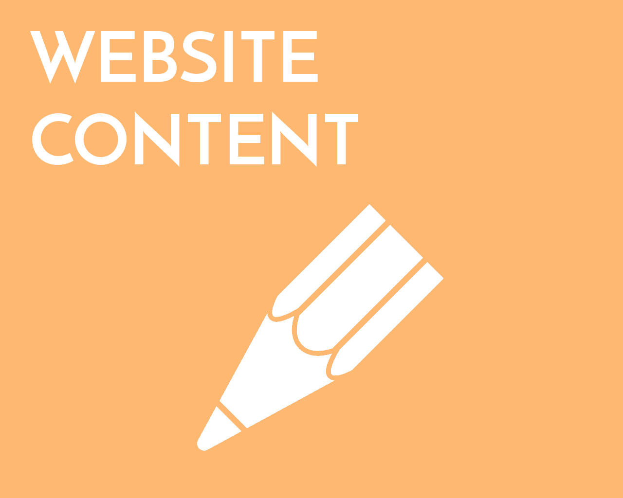 Writing content for websites
