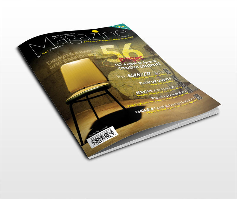 Magazine Cover Design - US Letter / A4 by BoxedCreative - 1451