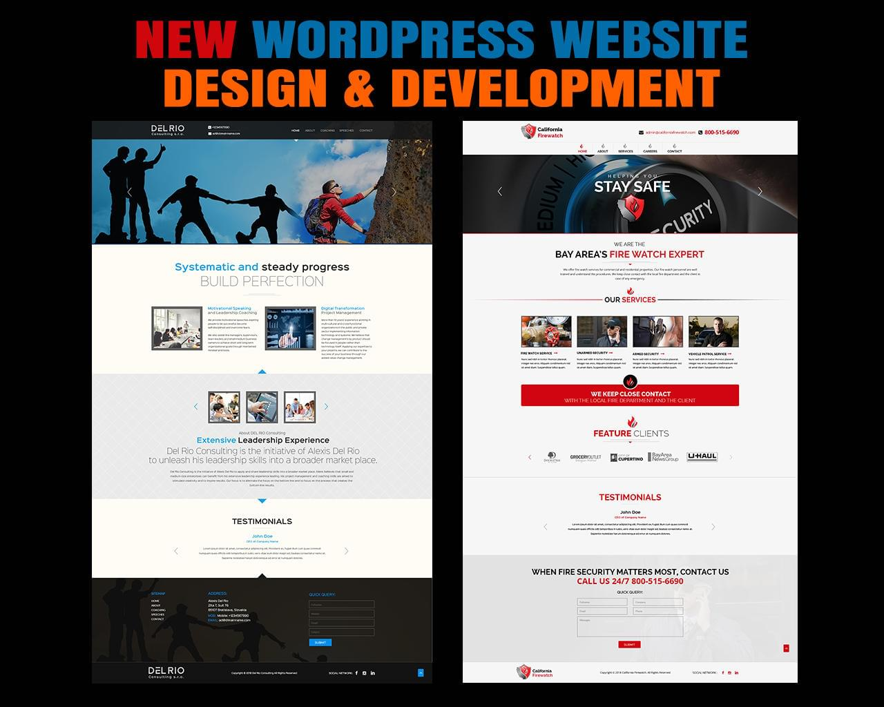 New Wordpress Website Design & Development by kreativenet - 114770