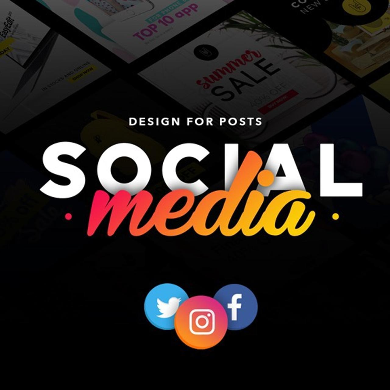 Social Media Posts For Various Social Media Platforms by AzherJawed - 112503