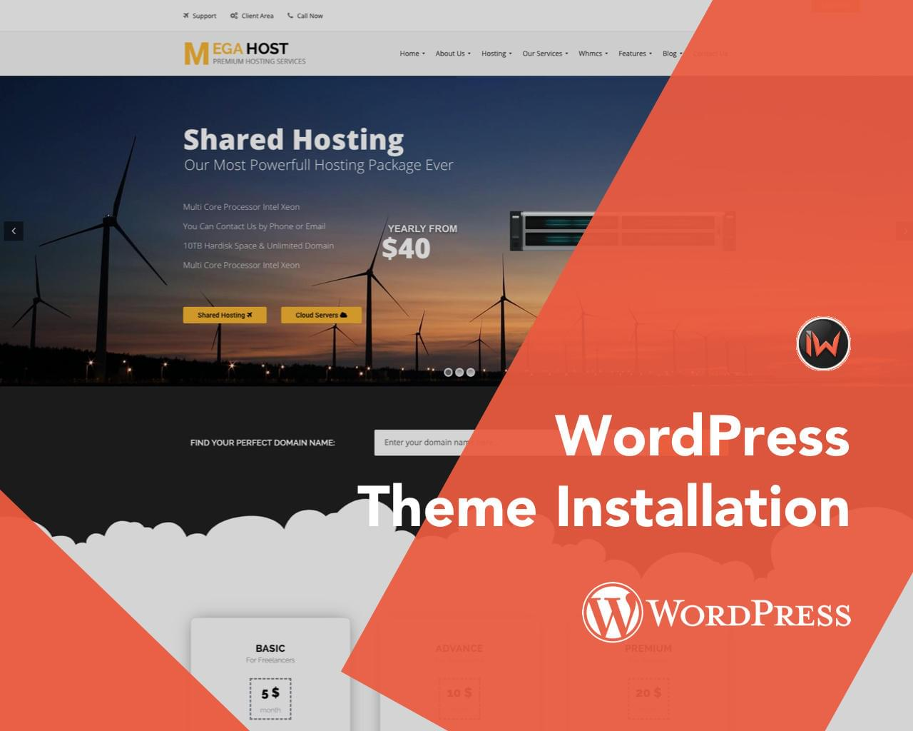 WordPress Theme Setup, Plugins Installation by iwthemes - 115191