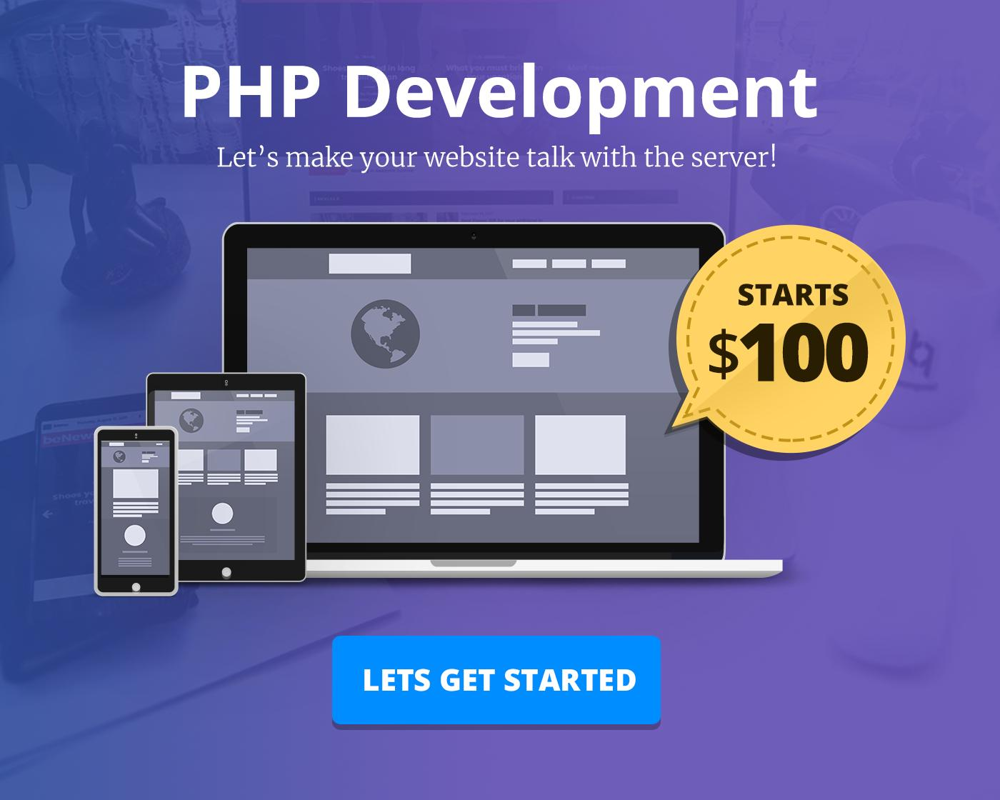 PHP Development, Customization & Bug Fixing by BloomPixel - 110934