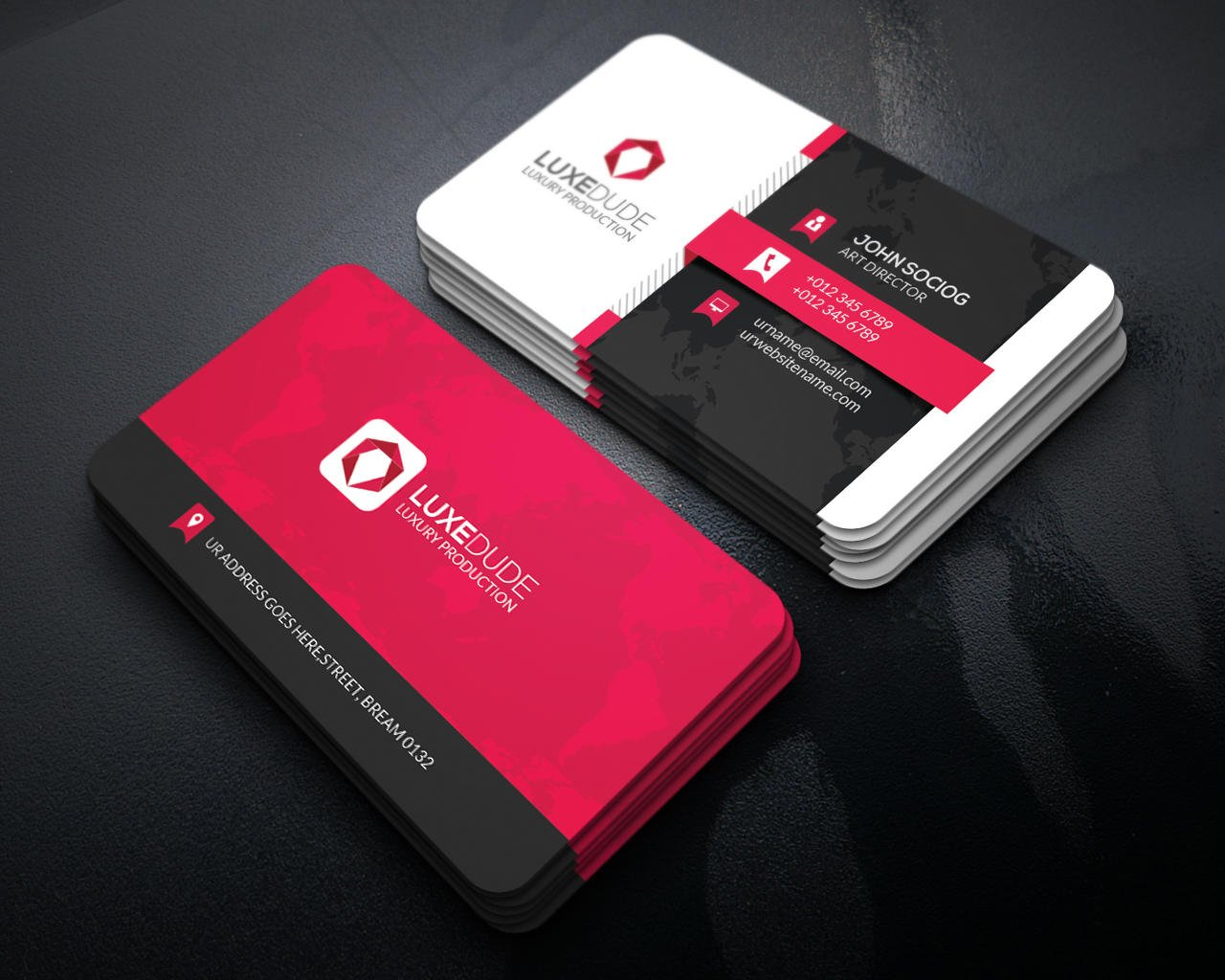 Business Card Design by -axnorpix - 84312