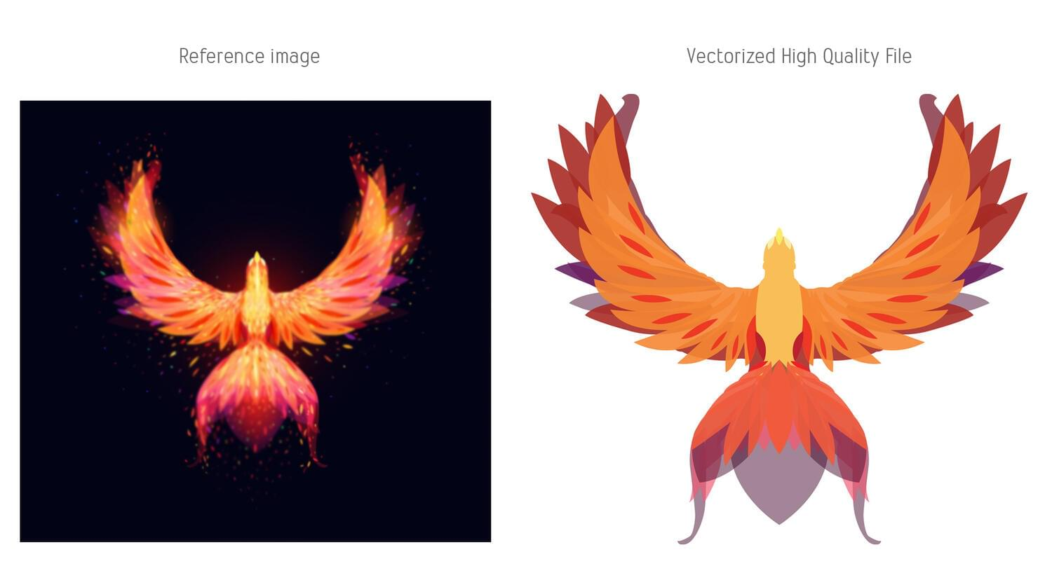 Vectorizer / Redraw your logo and images by LassoPix - 118529