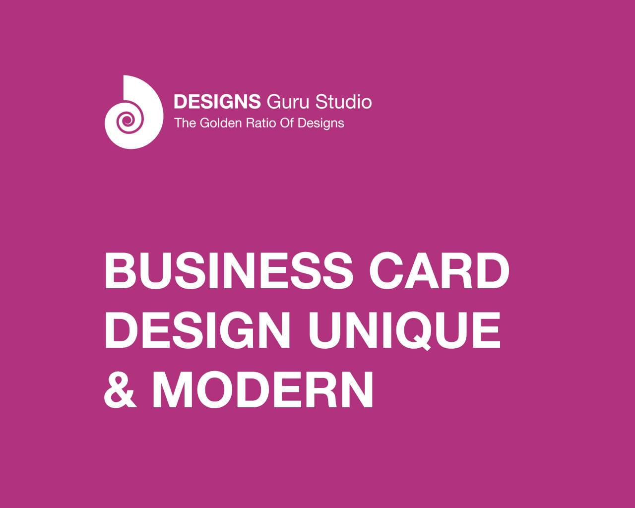 Business Card Design by designsgurustudio - 111748