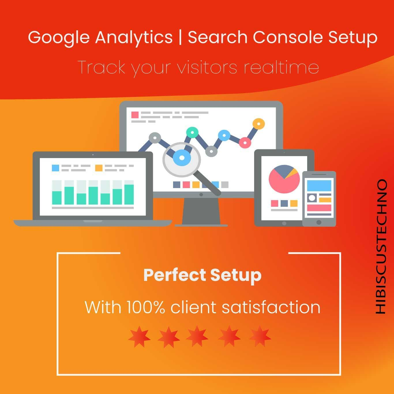 Google Analytics, Webmaster Tools, Search Console and Sitemap setup by hibiscustechno - 117672