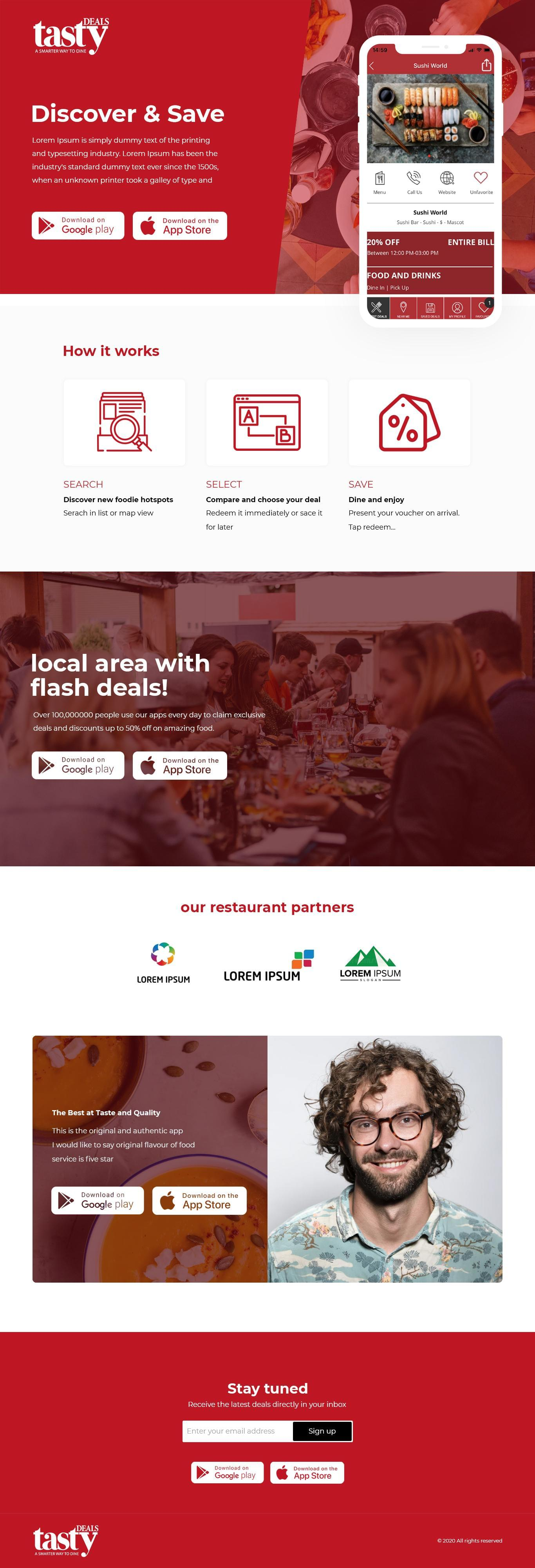 Professional Homepage Design by BarwalDesigns - 119247