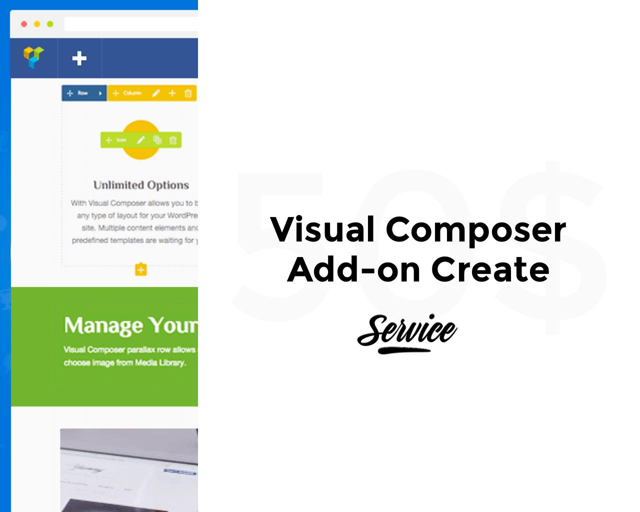 Visual Composer Add-on Creation or Customization by pixelthrone - 103913