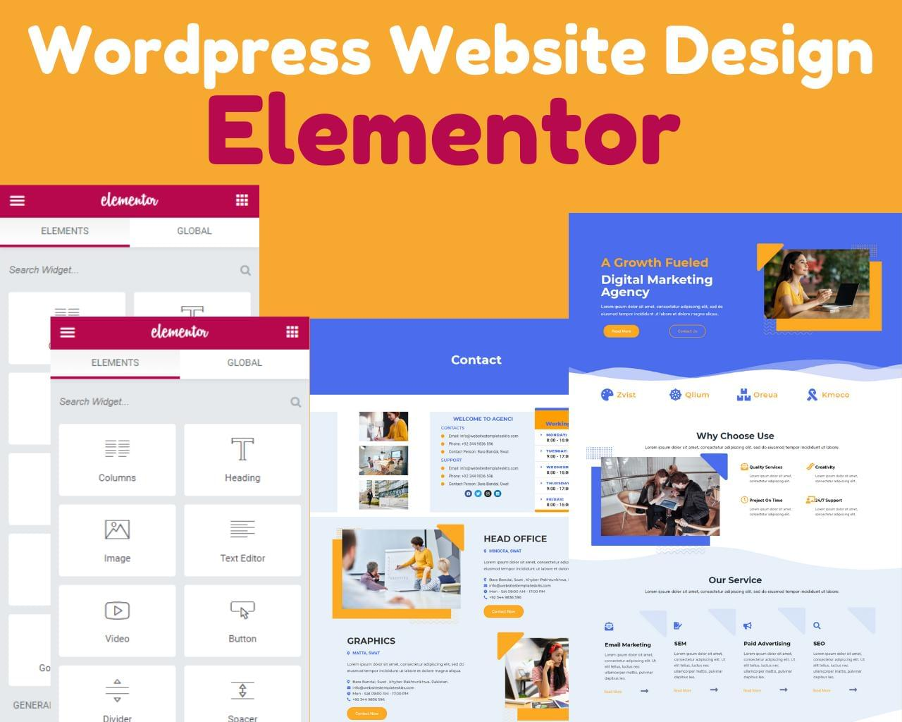 Wordpress Website Design with Elementor by DePautaMadre - 120076