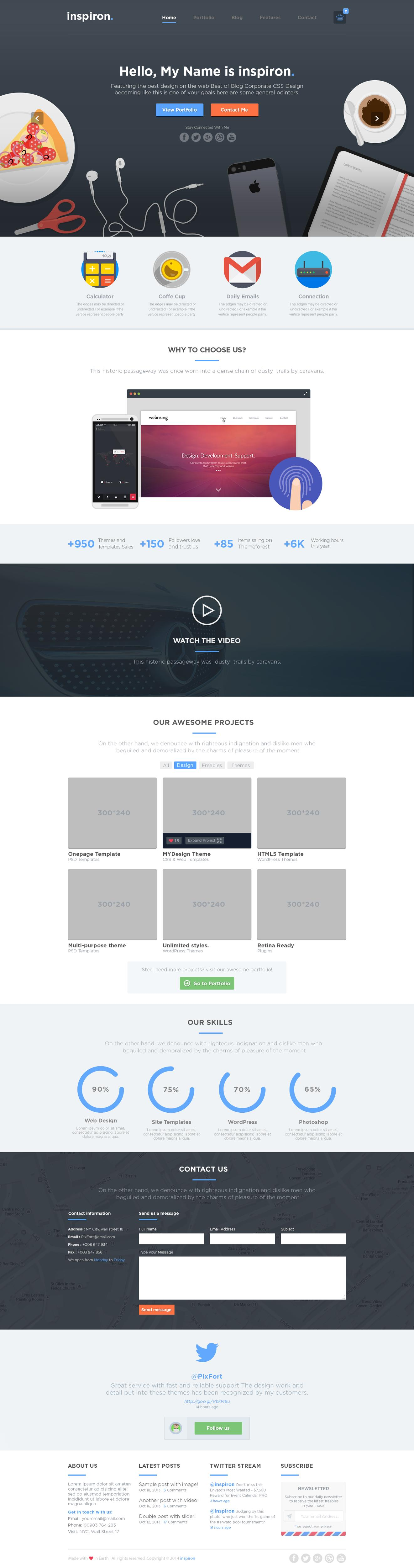 Premium High Quality Homepage Web Design / Redesign by PixFort - 57799