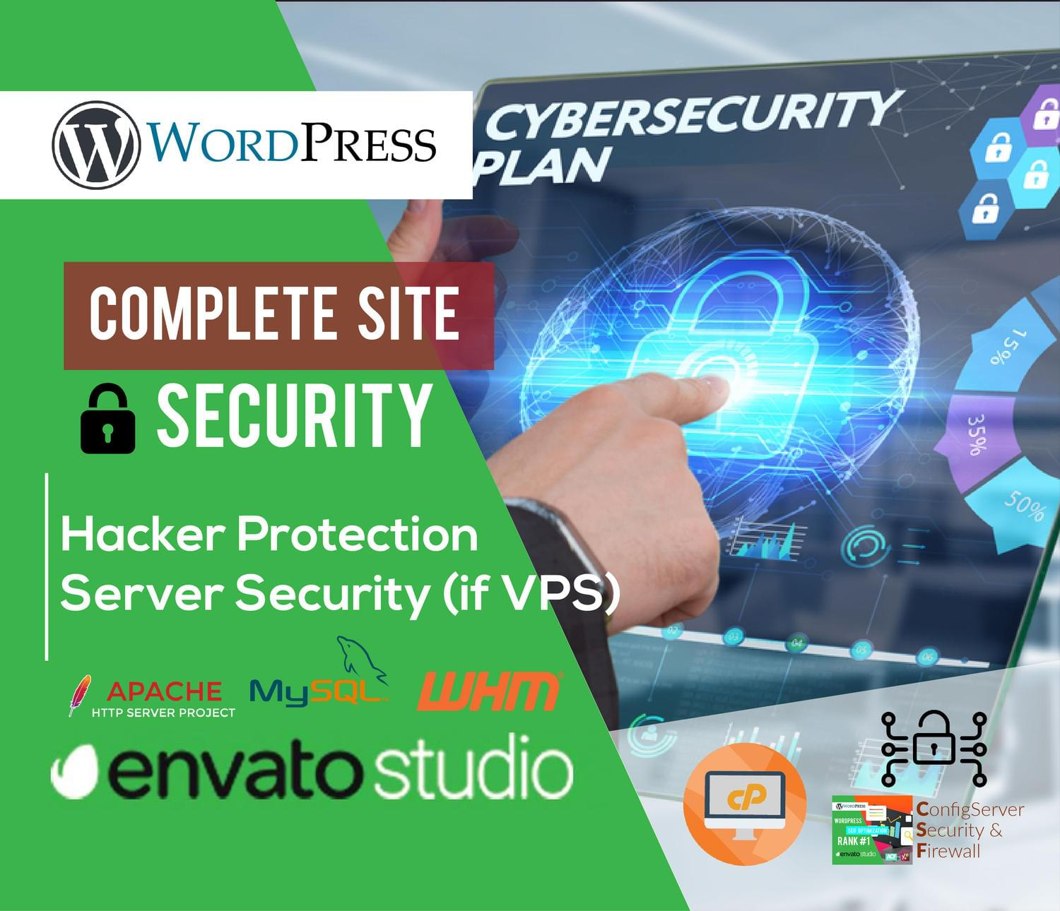 WordPress Site Security by MuhammadHaroon - 116492