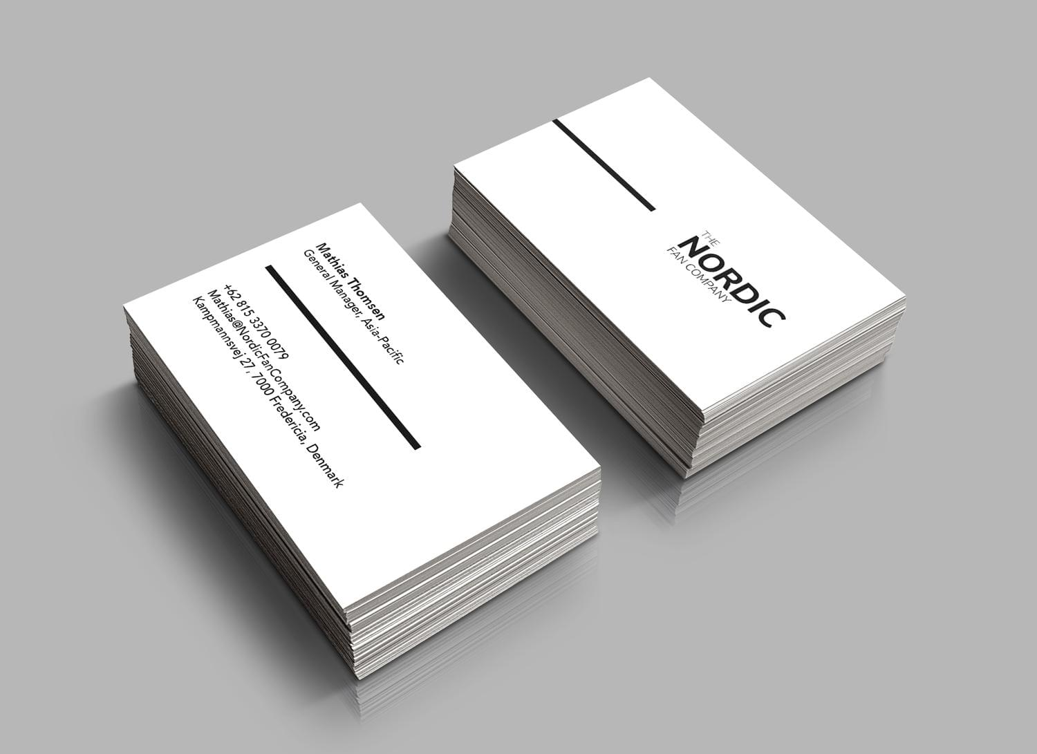 Unique and Modern Business Card Design by cihanzengin - 114226