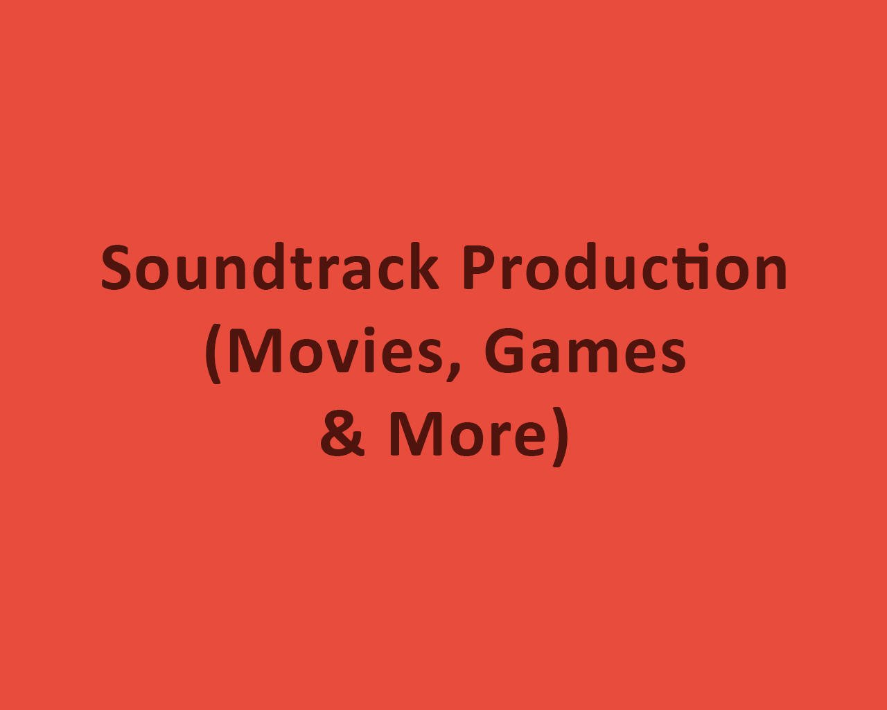 Soundtrack Production (Movies, Games & More) by odiusfly - 105981