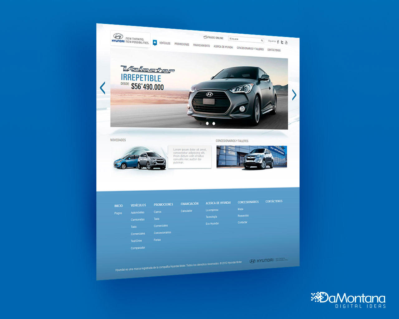 Home Landing Page Web Design-Redesign by DaMontana - 78154