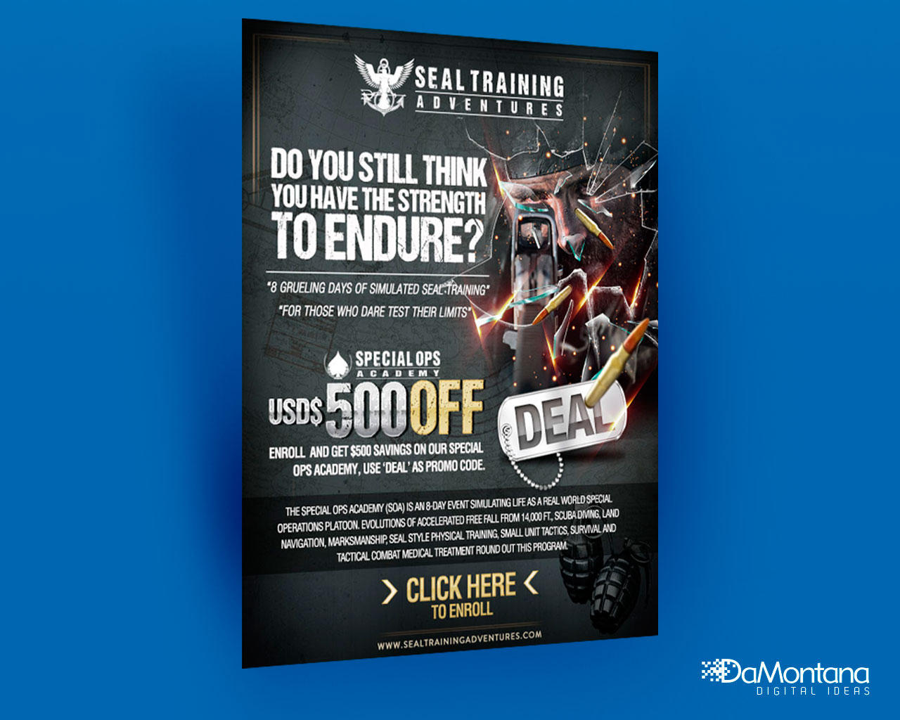Express Email Newsletter Design by DaMontana - 78157
