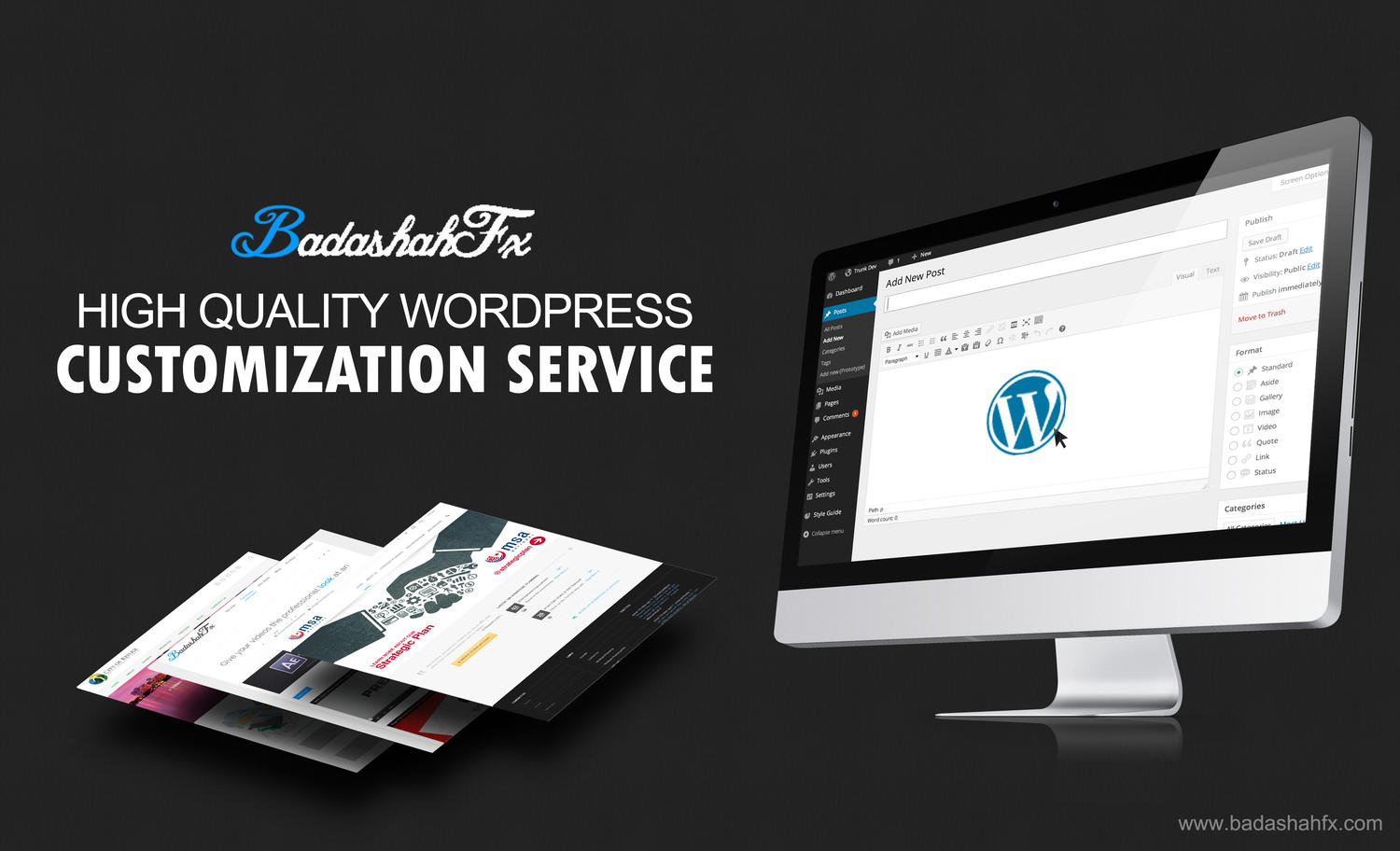 High Quality Wordpress Website Customization by badashahfx - 37109