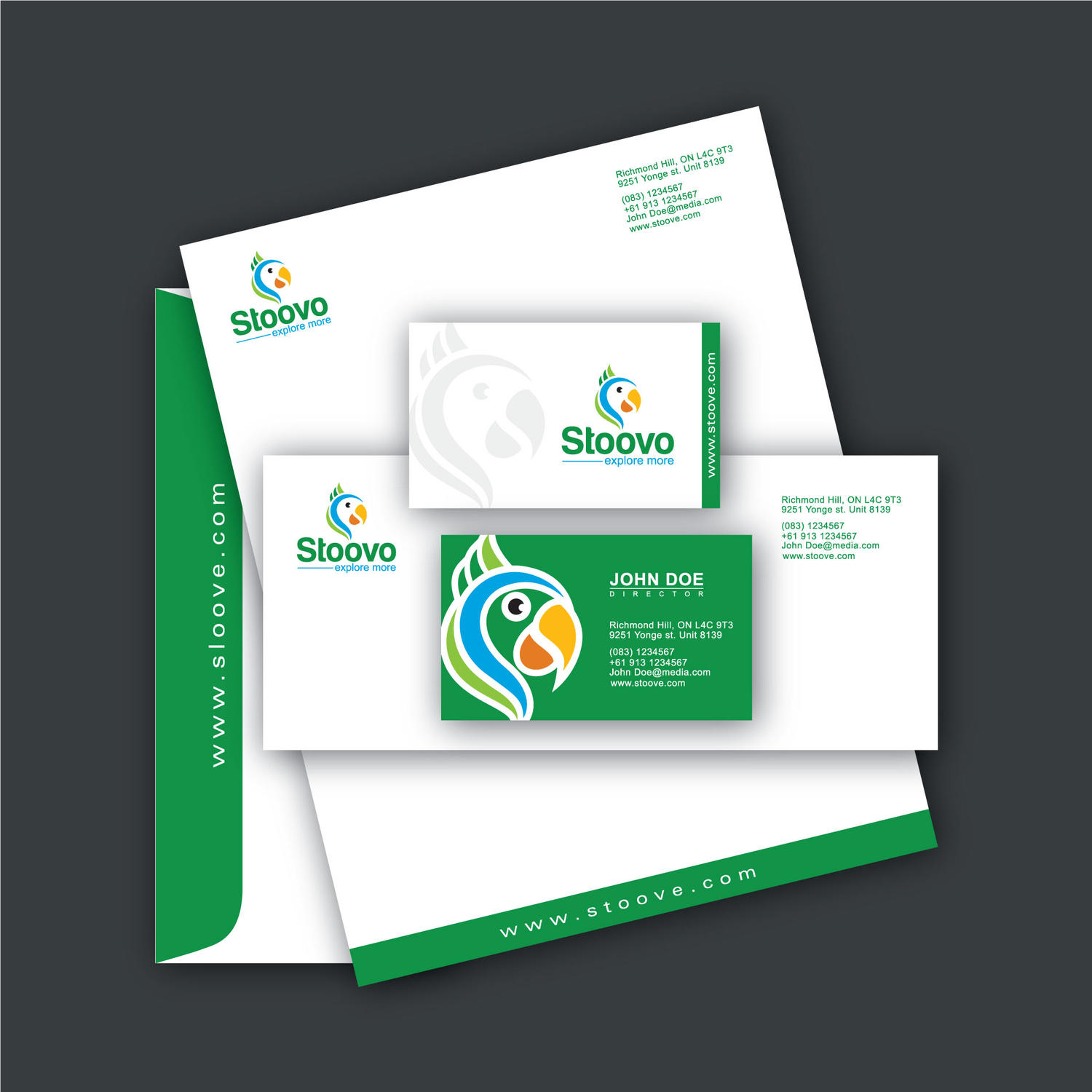 Corporate Stationery Design by sudiptaexpert - 49002