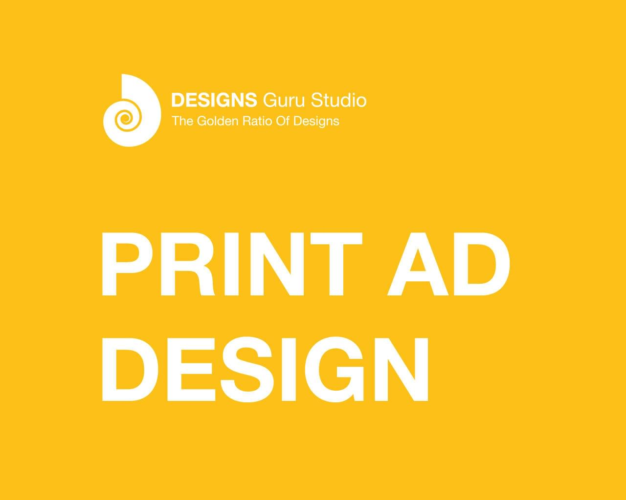 Print Ad Design by designsgurustudio - 117604