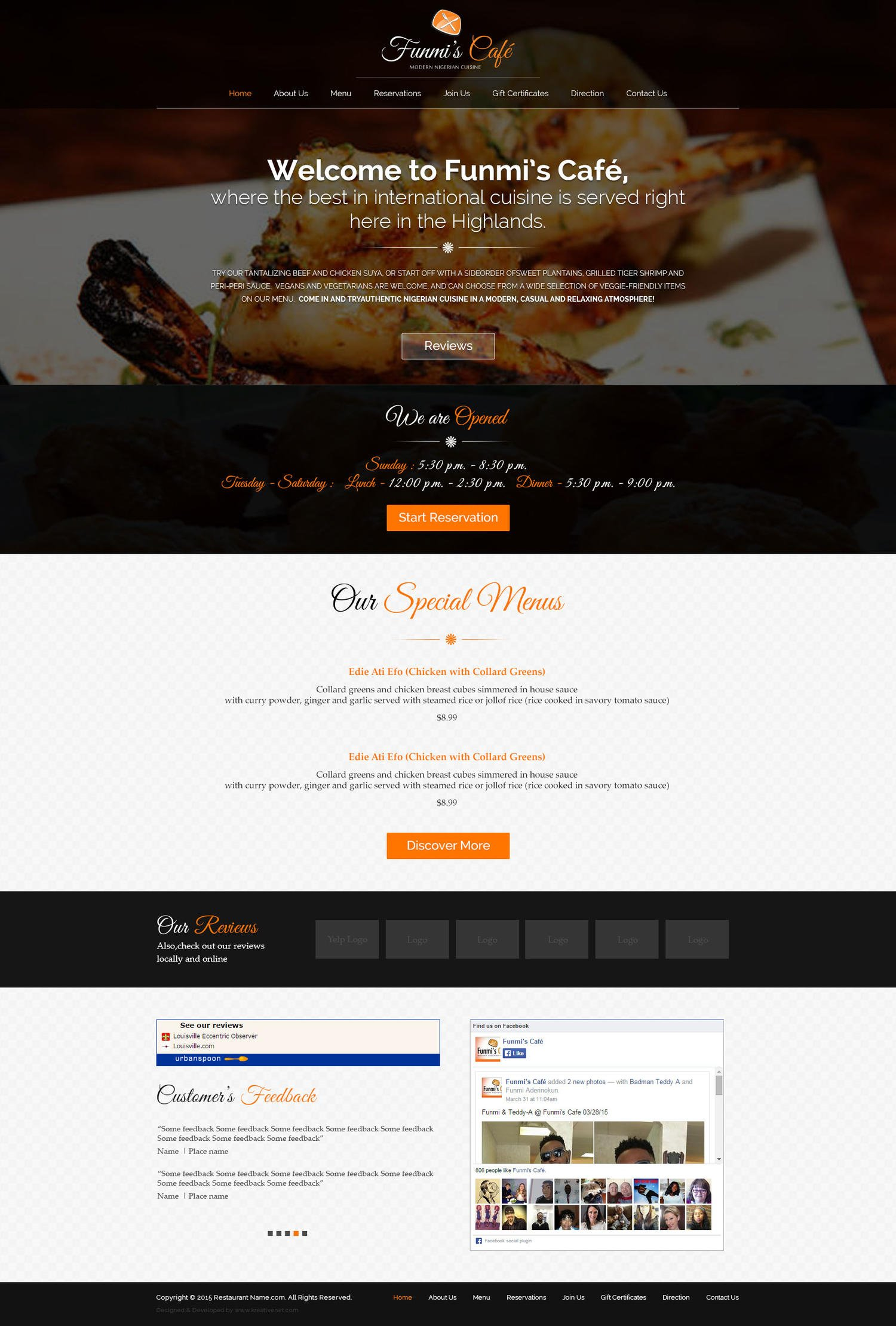 PSD Convert to Wordpress Theme by GraphicsWings - 110956