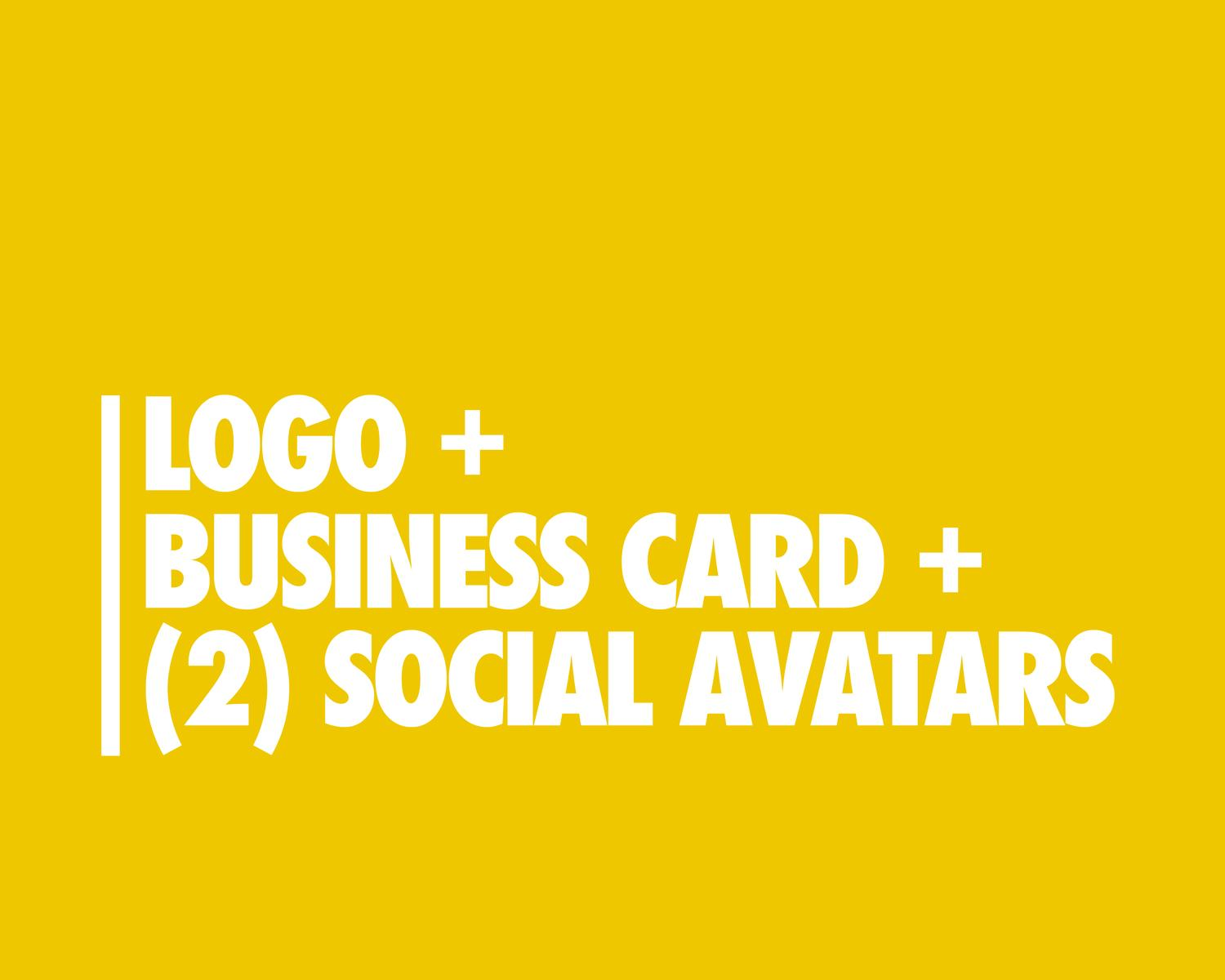 Logo With Business Card and Social Media Avatar by eDesignsCompany - 97275
