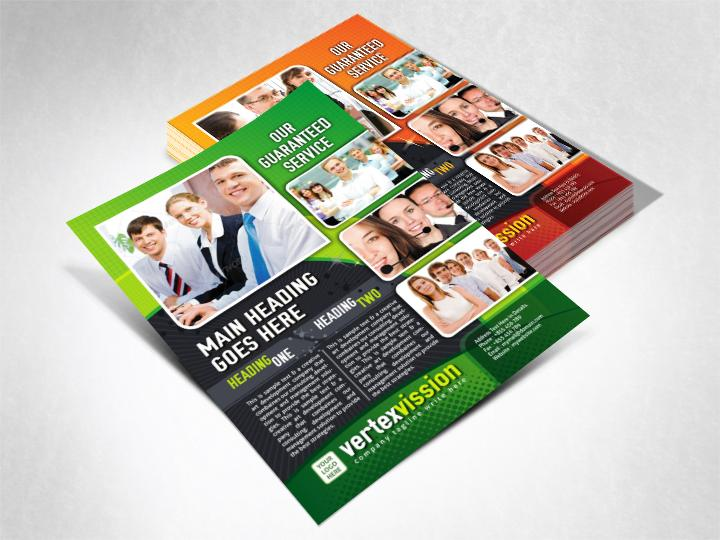 Corporate Clean & Creative Business Flyers by ContestDesign - 38528