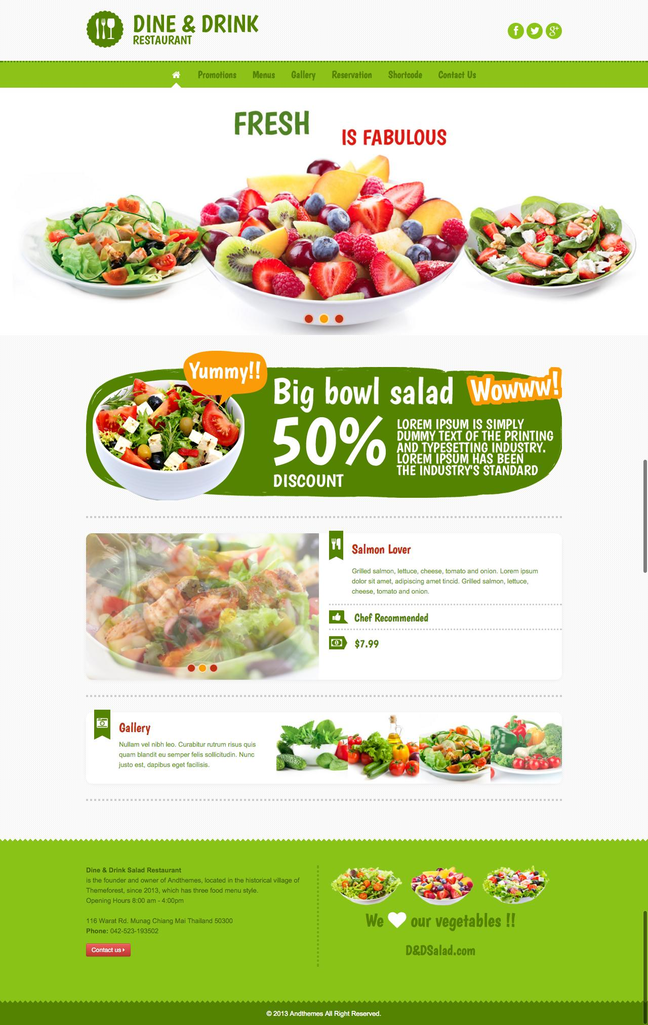 Website for Restaurants  by sniro - 95821