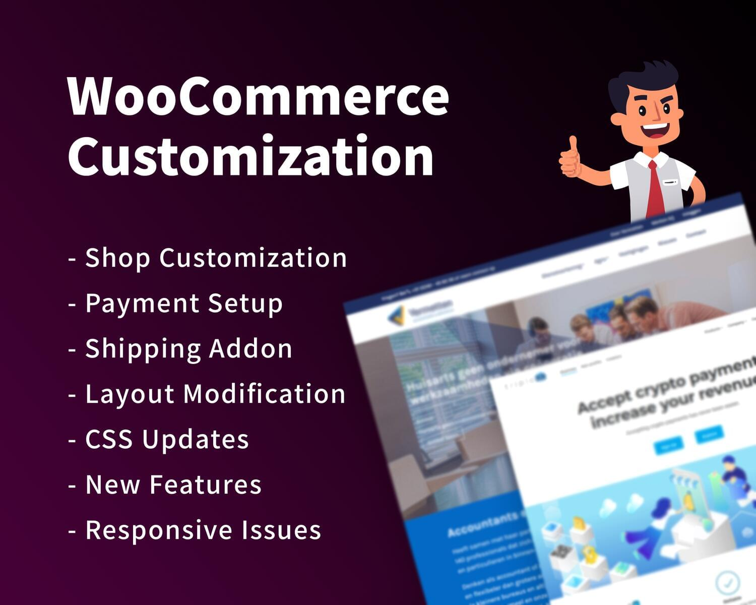 WooCommerce Advanced Customization by hasanet - 118742