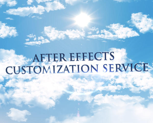 After Effects Templates Customization by miseld - 54034