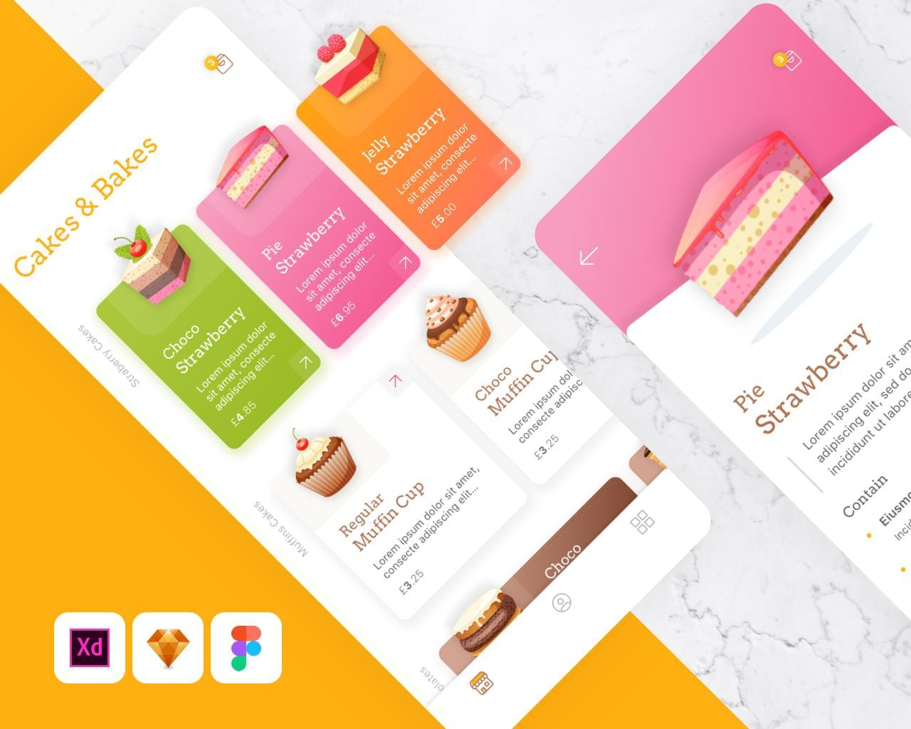 Mobile Application UI Designing by ubrain - 119232