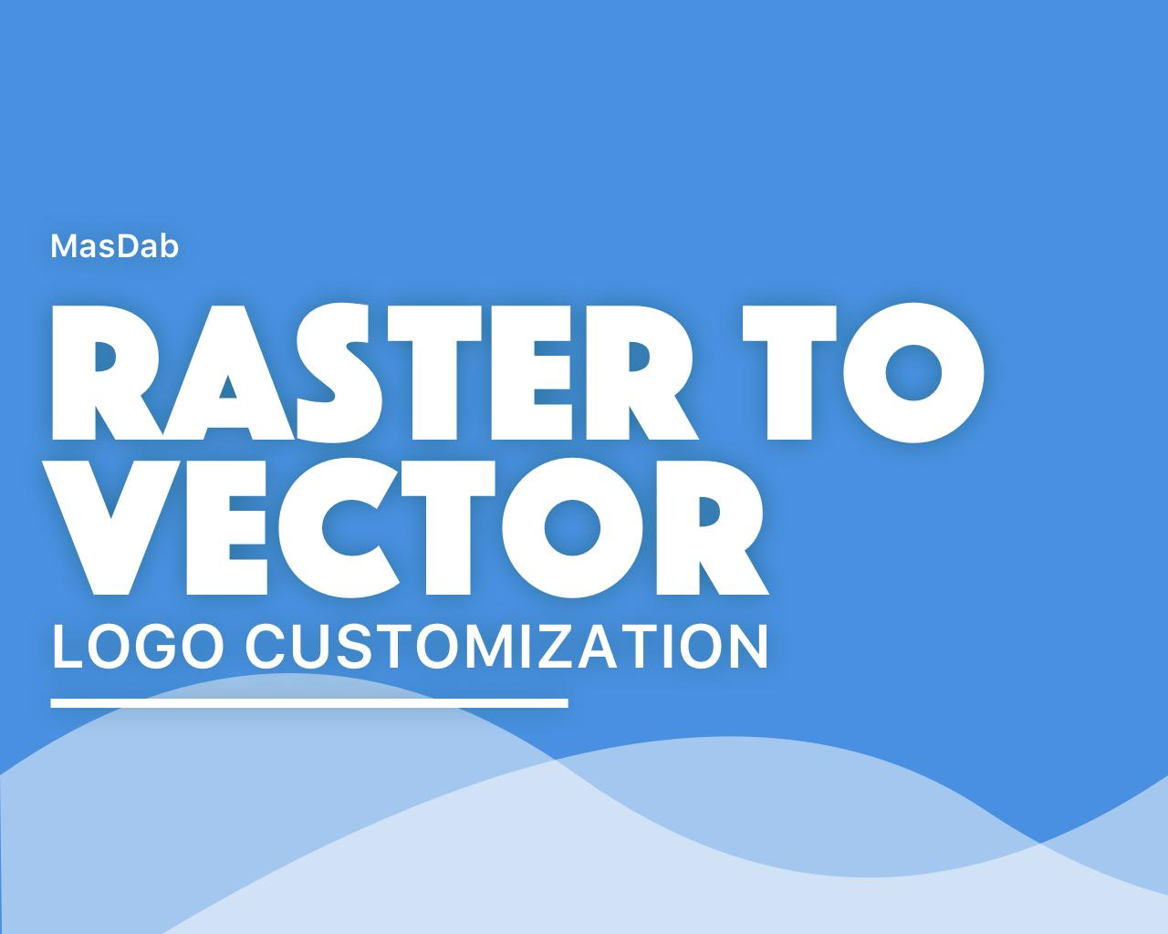 Raster Logo Image to Vector Conversion by masdab - 109979