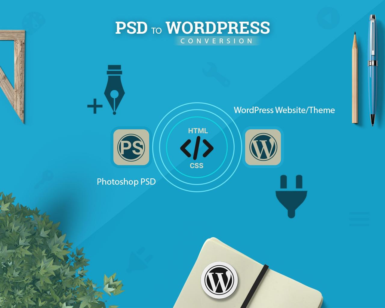 PSD To WordPress Conversion by SK-Web-Solutions - 112490