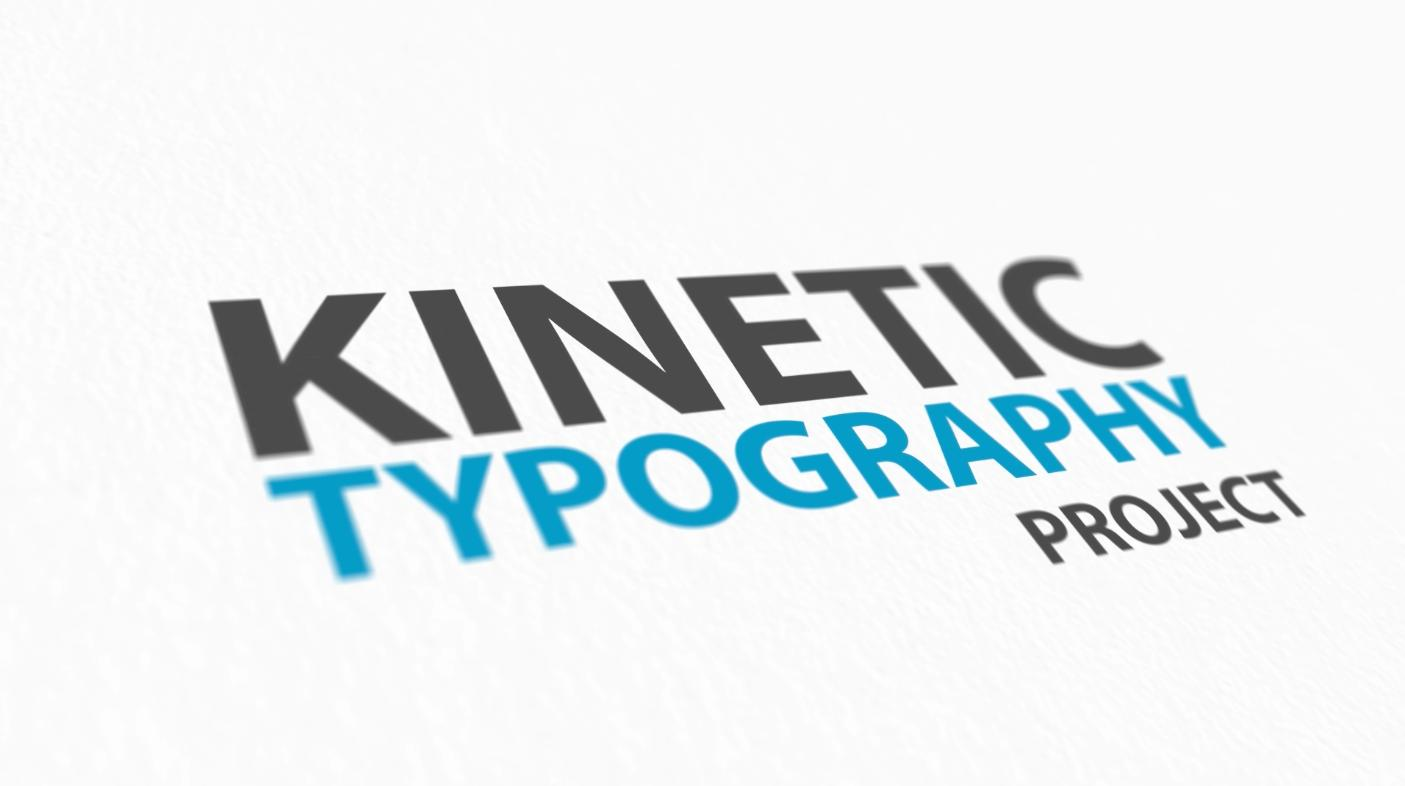Castomization Kinetic Typography 3D pack by Infilm - 47903