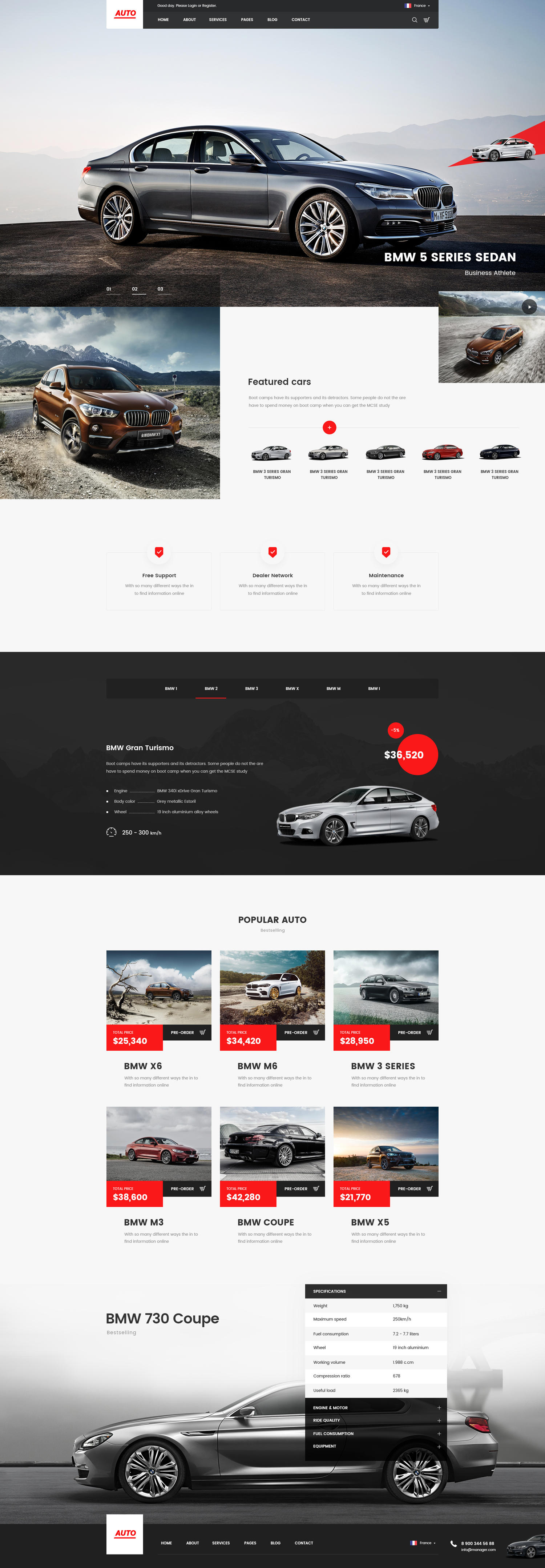 Professional Homepage Web Design / Redesign by Wexen - 103545