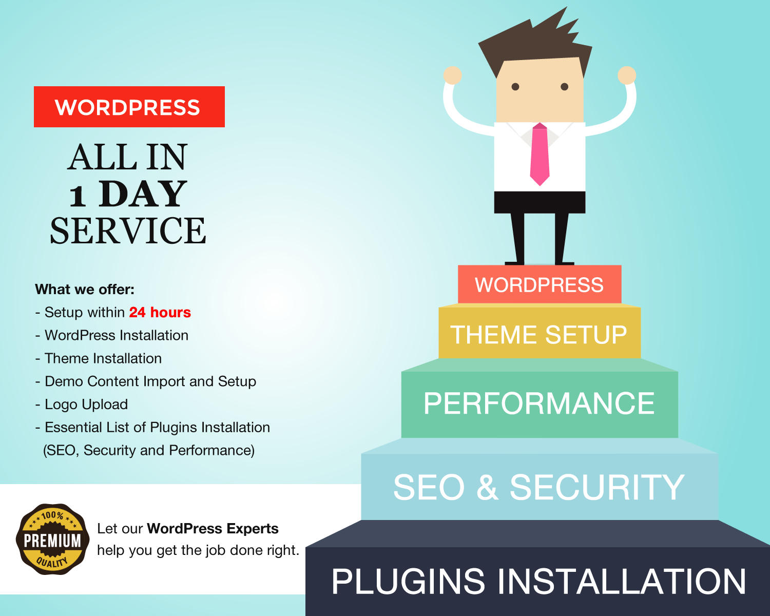 WordPress All-In Service - Theme Setup, SEO, Security, Performance and Plugins Installations by kentonwebdesign - 105106