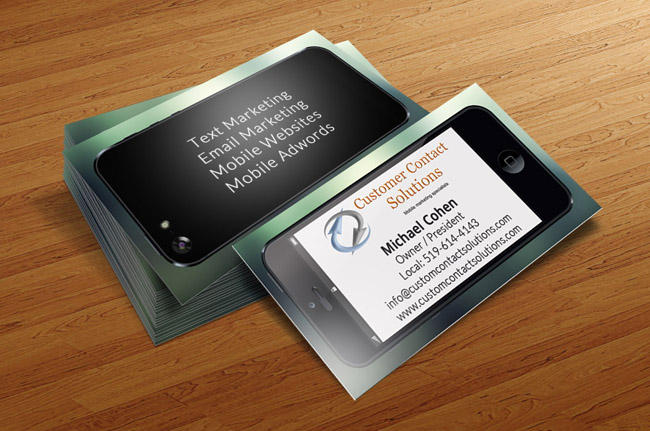 Professional Business Card Design by nancy_chr - 12491