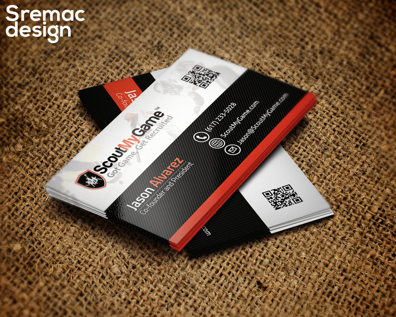 Professional Business Card by Sremac - 88587