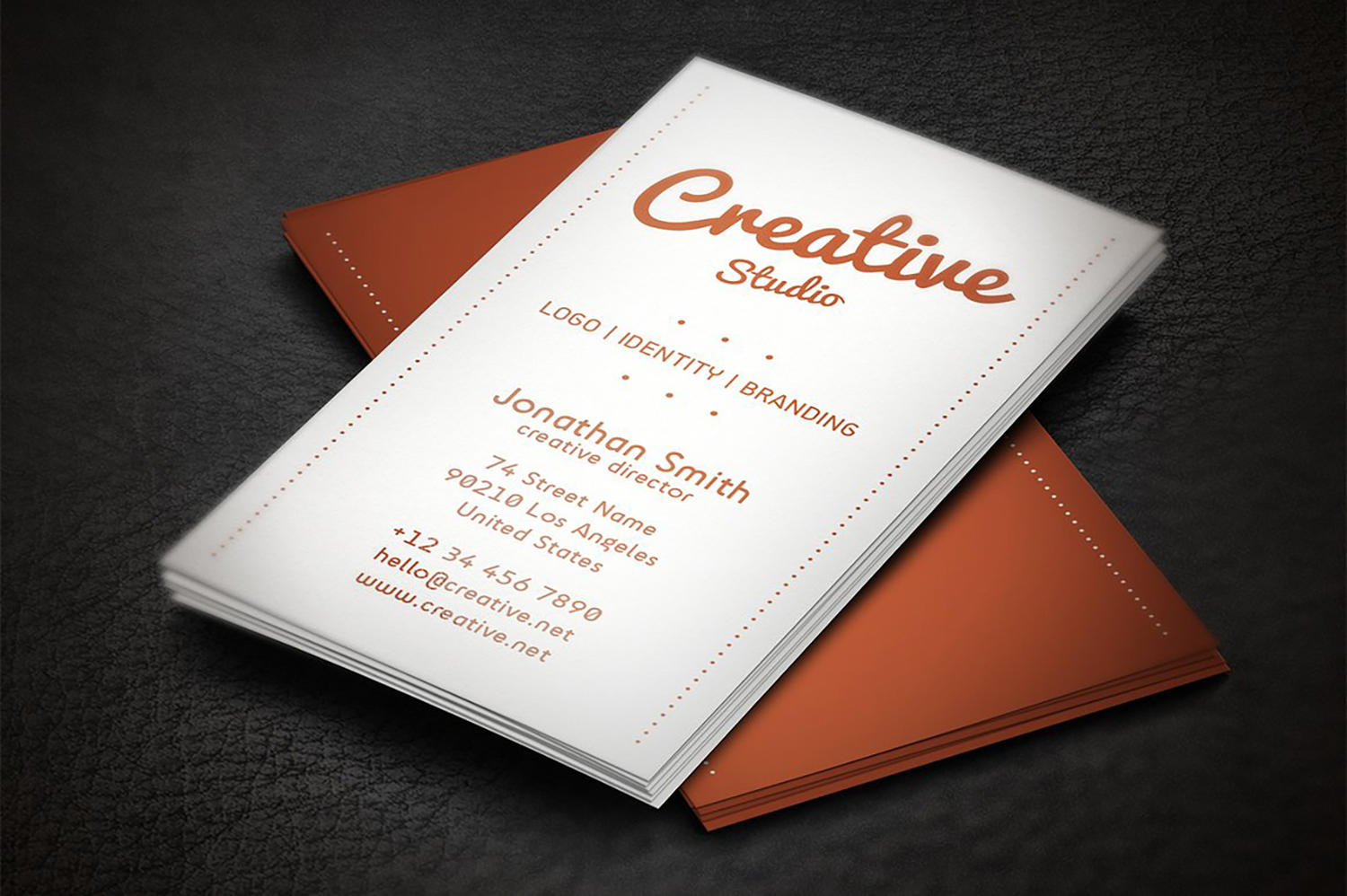 Business Cards Template Customization by artnook - 110755