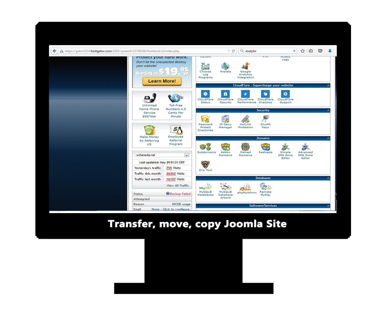 Joomla Migration / Move / Transfer / Copy / Cloning from One Server to Another by AritonangWofa - 79893