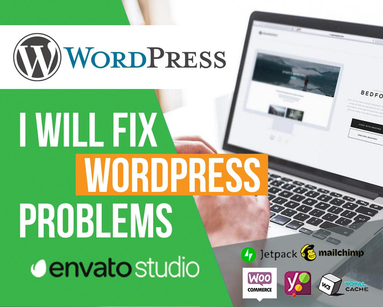 WordPress Problems Fix by MuhammadHaroon - 114747