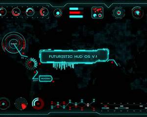 futuristic hud os v 1 after effects template customizations by