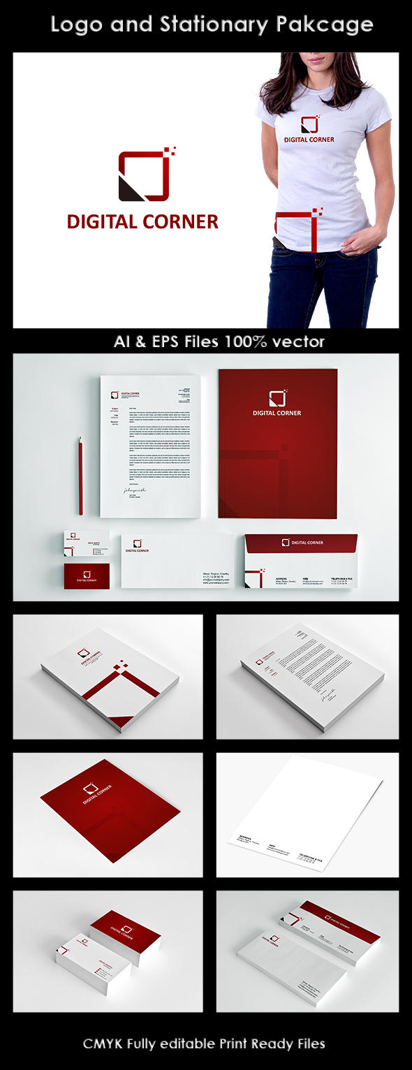Professional Stationery Designing by Nasirktk - 10908