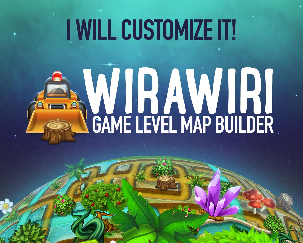 Customize Wirawiri: Tileable Game Level Map by weirdeetz - 109287