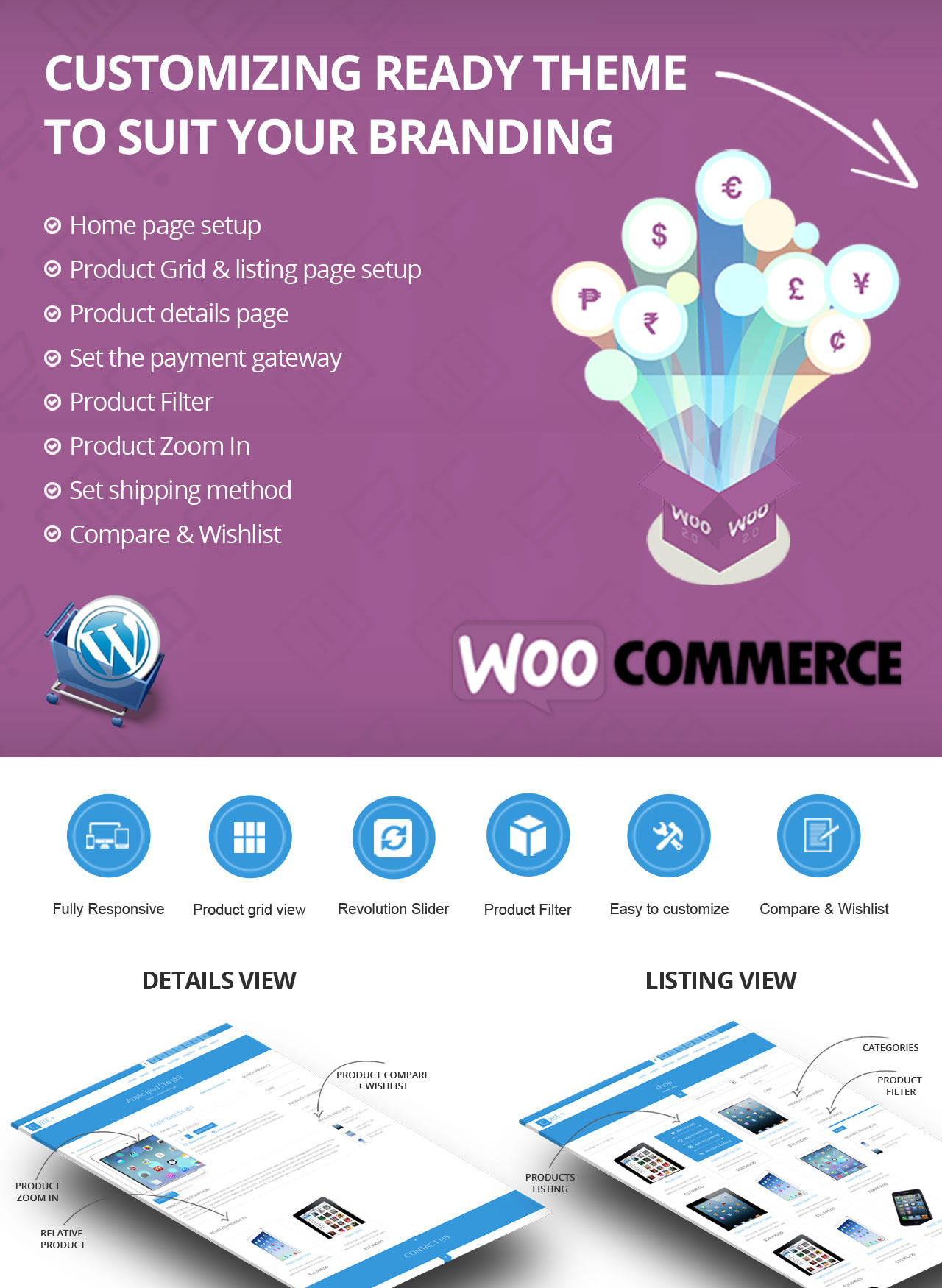 Wordpress eCommerce - WooComerce Complete Site Setup by dasinfomedia - 75082
