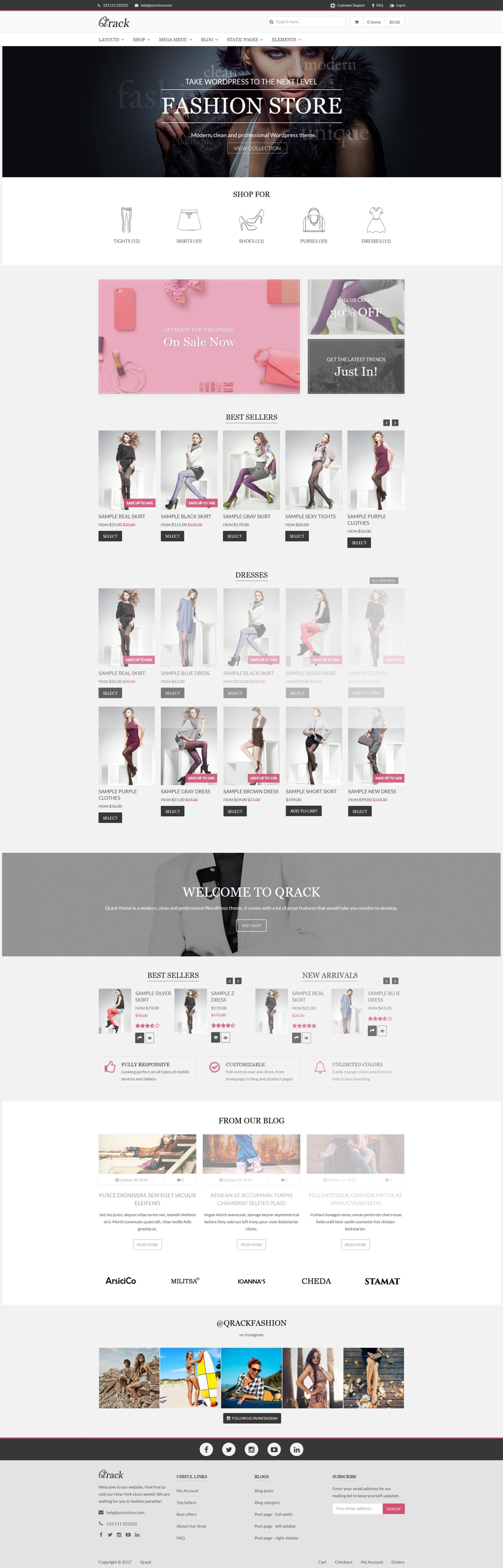WooCommerce Theme Installation & Demo Setup  by ThemesPlace - 115611
