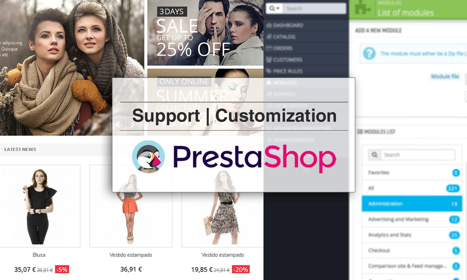 Prestashop Support / Customization by madridnyc - 109876