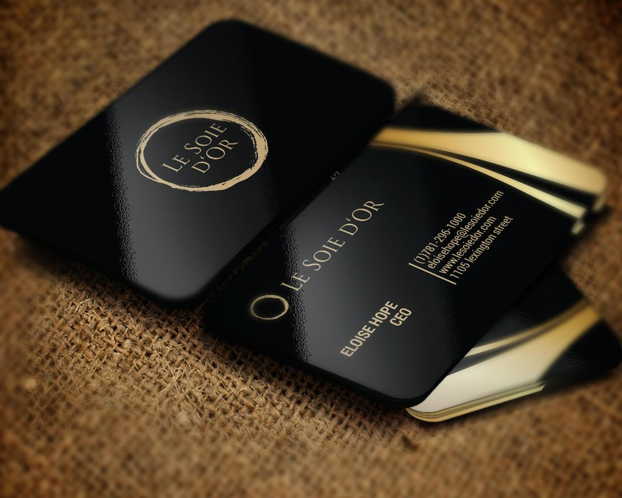 Premium Style Business Card Design by shujaktk - 112350