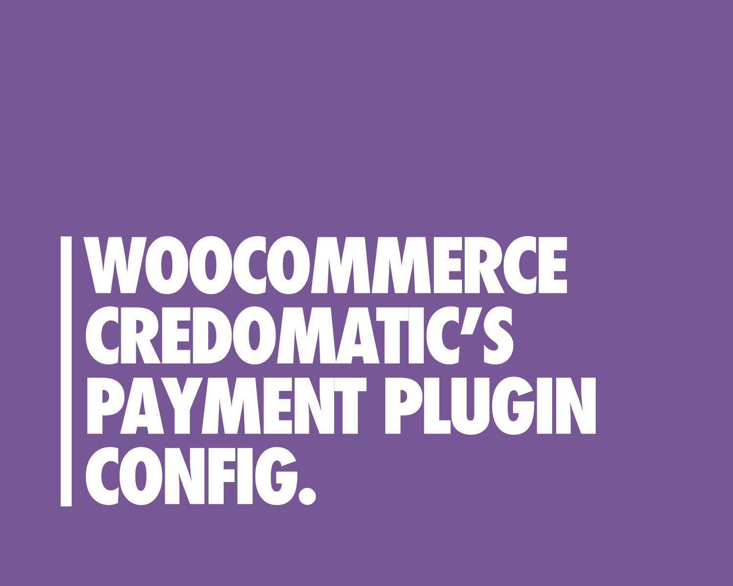 Credomatic Payment Gateway Plugin for WooCommerce by eDesignsCompany - 97278
