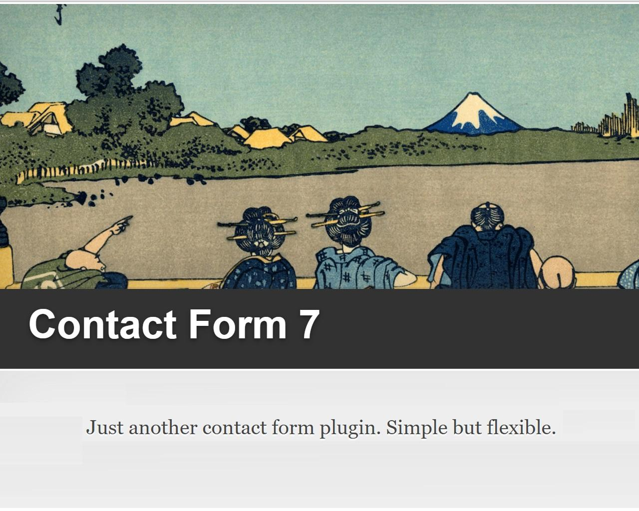 Fix Contact Form 7 (or another) WordPress Plugin Error by madridnyc - 97965